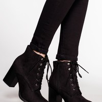 Cloud Nine Booties - Black