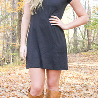 The Perfect Tee Shirt Dress - Black