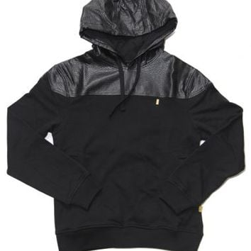 Aura Gold - Black Python Hoodie - Aura Gold, Sweaters & Crewnecks - KNYEW Clothing Boutique