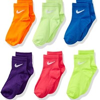 Nike Multi- Color Toddler Girls Socks Size 5-6 US Shoe Size 9C- 13C