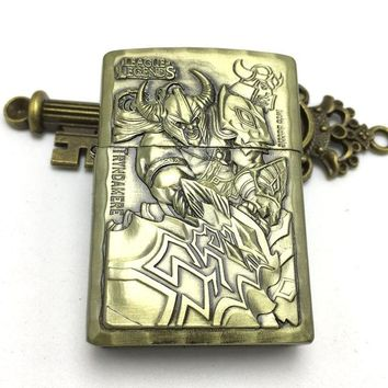 Game League Of Legends Vintage Character Lighter - Tryndamere