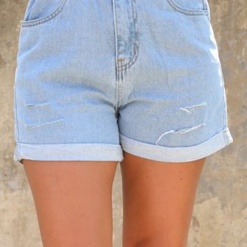 Sweet Sweet Summer Shorts - Denim