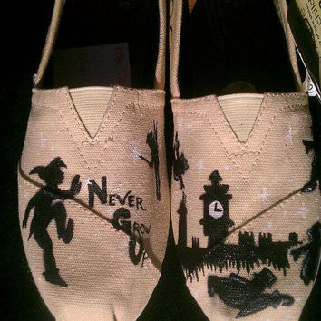 Peter Pan inspired TOMS