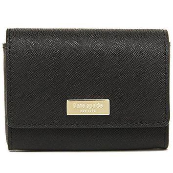 ICIK4S2 Kate Spade Newbury Lane Large Holly Saffiano Leather Credit Card Holder Coin Purse
