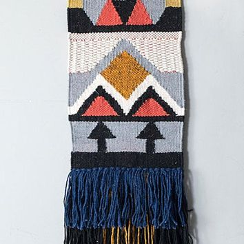Biza Geo Tribal Boho Wall Hanging
