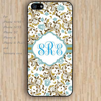 iPhone 6 case Monogram dream Notepad custom iphone case,ipod case,samsung galaxy case available plastic rubber case waterproof B137