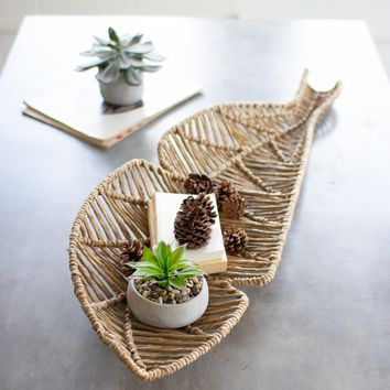 Seagrass Banana Leaf Basket
