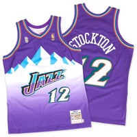 John Stockton1996-97 Authentic JerseyUtah Jazz - Mitchell & Ness