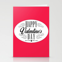Valentines Day  Stationery Cards by Ashley Hillman