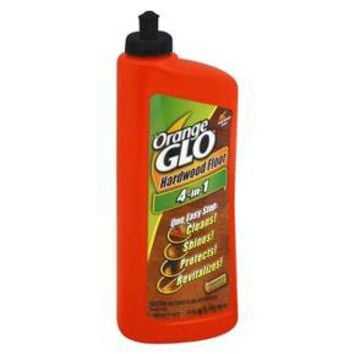 Orange Glo 4-in-1 Hardwood Floor Cleaner Orange Scent 24 oz : Target