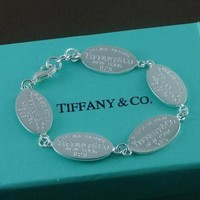 TIFFANY Women Fashion Chain Bracelet Jewelry-2
