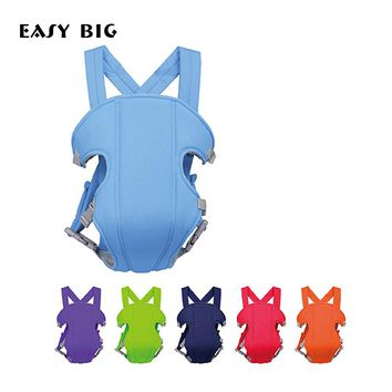 EASY BIG 6-Colors Ergonomic Baby Carrier Sling Breathable Baby Hipseat Backpacks & Carriers Multifunction Backpack Sling