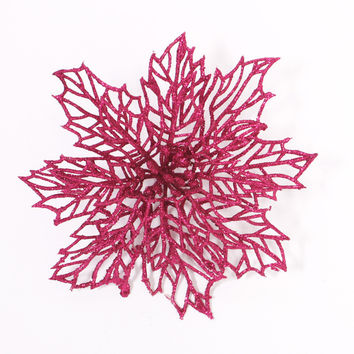 Merry Christmas Hollow Out Flower Decor Christmas Tree Hanging Decoration Xmas Ornament [9343507908]