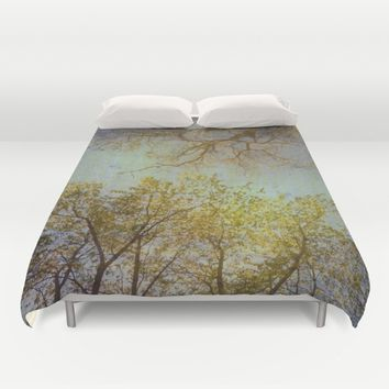 Above us Duvet Cover by aRTsKRATCHES