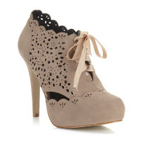 Simples Nude Lazer Cut Heel - View All  - New In
