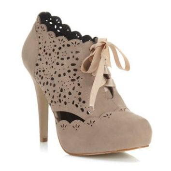 Simples Nude Laser Cut Heel - View All  - Shoes