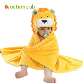 Actionclub Cartoon Baby Blanket Swaddle Infant Bedding Quilt Sleeping Bag Baby Clothing Sets Envelope Newborns Kawaii Kids Cloak