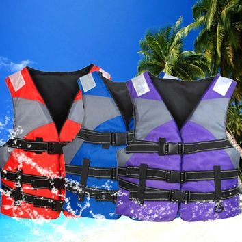 Lifejacket Outdoor Tactical Water Sports Life Vest For Fishing Kayak Boating Surfing Puddle Jumper Survival Swimsuit Kids Baby