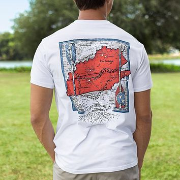 River Route Collection Tee Tennessee & Kentucky by Southern Marsh