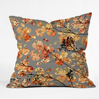 Garima Dhawan Dogwood Quilt Throw Pillow