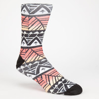 Lrg Geo Print Mens Socks Multi One Size For Men 25371395701