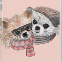 'cute friends' iPad Case/Skin by Marianna Tankelevich