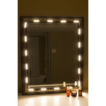 Makeup mirror Warm White LED light package premium series