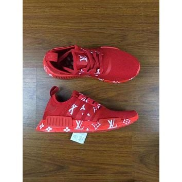 Adidas LV NMD individuality Sequins Fashion Trending Leisure Running Sports
