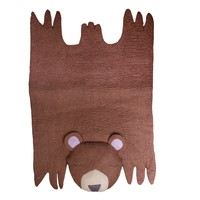 Children's Bear Felt Rug