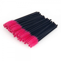 Best sale 50 pcs Disposable Eyelash Brush Pink