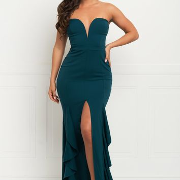 Megan Dress - Teal