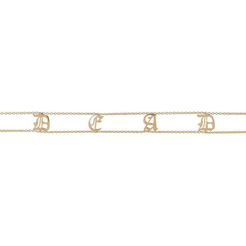 OLD ENGLISH Name Choker