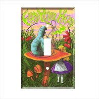 Light Switch Cover - Light Switch Plate Alice In Wonderland Feed Your Head