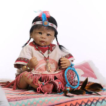 "Righ Away 22""American Indian Doll"