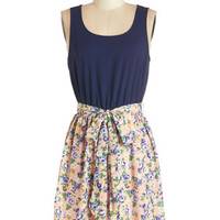 ModCloth Mid-length Sleeveless A-line Bounty of Beauty Dress