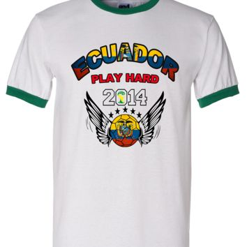 ECUADOR WORLD CUP T SHIRTS