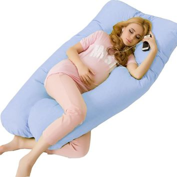 pregnancy Comfortable U type pillows Body pillow For Pregnant Women Best For Side Sleepers Removable drop shipping