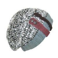 David & Young Womens Slouchy Throwback Beanie