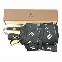 CHANEL Folding Umbrella