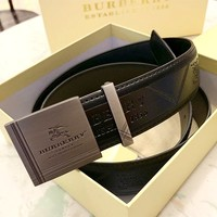 Burberry Tide brand men's new luxury high-end belt