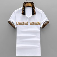 Versace Fashion Casual Shirt Top Tee-105