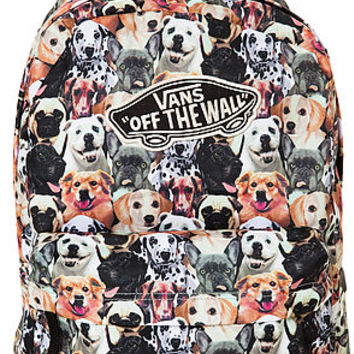 6a6632dfd0 The Vans x Aspca Realm Dog Backpack from Karmaloop