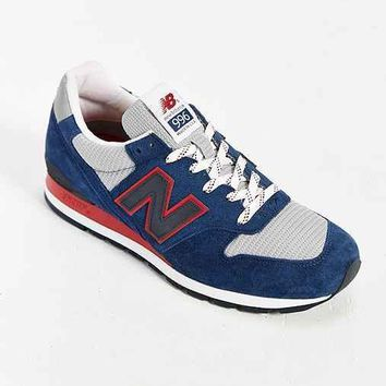 new balance made in usa 996 montauk collection running sneaker dark blue