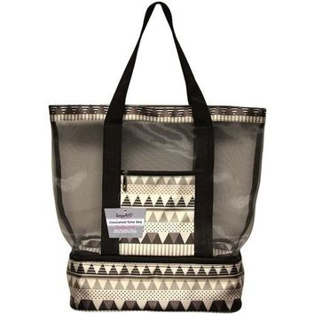 TempaMATE? Insulated Tote Bag - Black/Grey