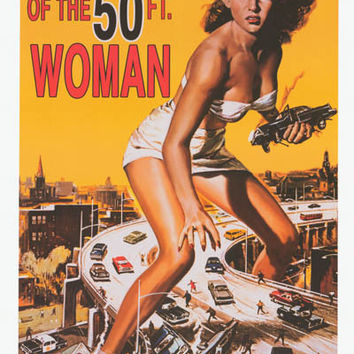 Attack of the 50 Foot Woman Movie Poster 24x36