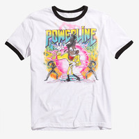 Disney A Goofy Movie Powerline Airbrushed Ringer T-Shirt