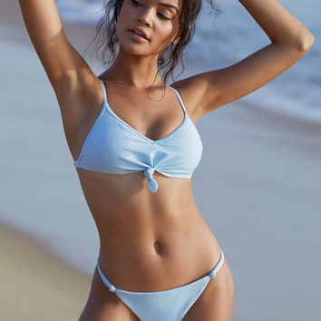 LA Hearts Knotted Front Bikini Top at PacSun.com