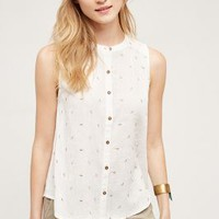Vanessa Virginia Antalya Buttondown Tank