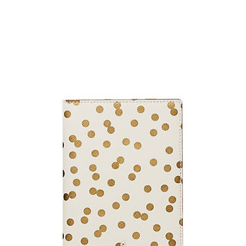 Kate Spade Cedar Street Confetti Dot Travel Passport Holder Bridal