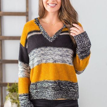ST- Talk About Comfort Hooded Sweater